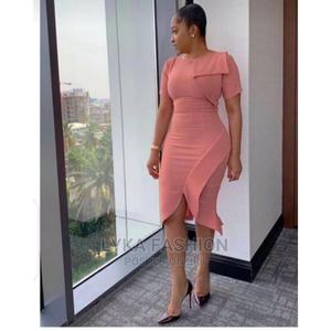Stylish Peach Gown   Clothing for sale in Lagos State, Surulere