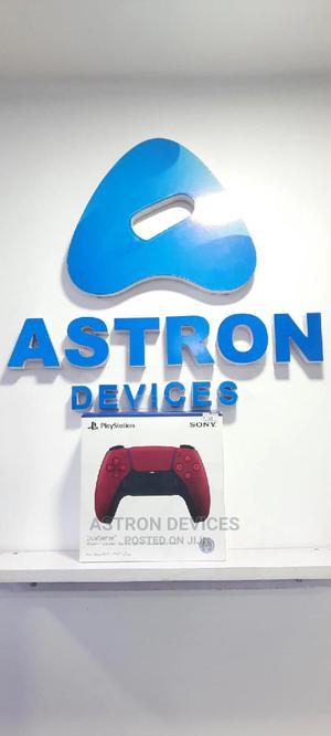 Plastation 5 Controller (Red) | Video Game Consoles for sale in Lagos State, Ikeja
