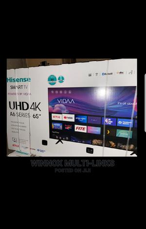 Hisense Smart 4k Tv 65 Inches   TV & DVD Equipment for sale in Lagos State, Ajah