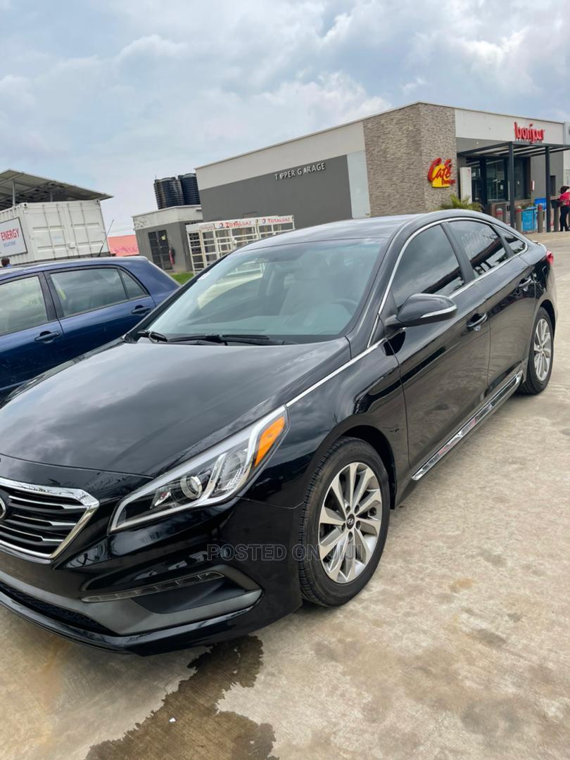 Hyundai Sonata 2017 Black | Cars for sale in Kubwa, Abuja (FCT) State, Nigeria