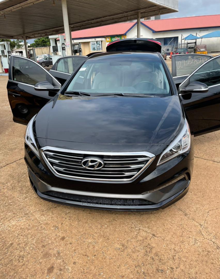 Hyundai Sonata 2017 Black