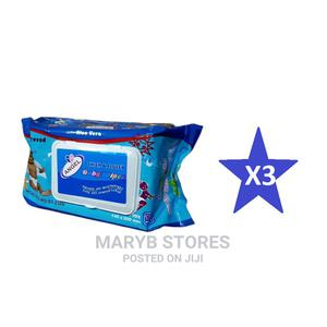 Little Angel Baby Wipes With Aloe Vera - 125 Wipes X 3 = 375   Baby & Child Care for sale in Lagos State, Surulere