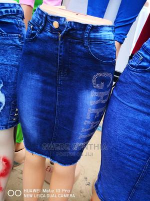 Ladies Jean Skirt | Clothing for sale in Delta State, Ugheli
