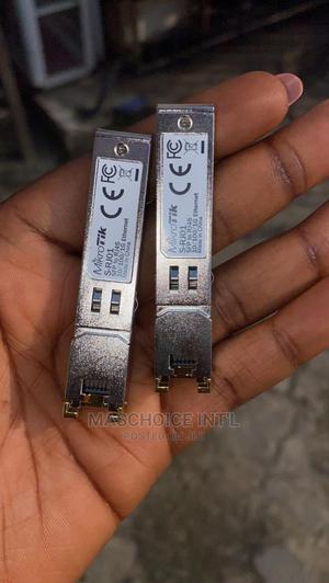 Mikrotik SFP RJ45 10/100/1000m Copper Module | Computer Hardware for sale in Lagos State, Ikeja