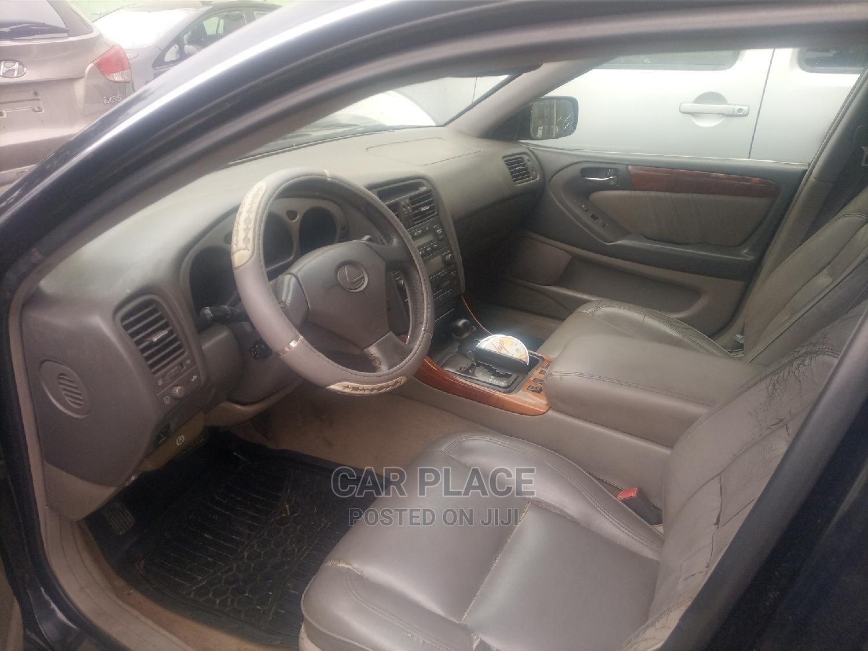 Lexus GS 2002 Black | Cars for sale in Lekki, Lagos State, Nigeria