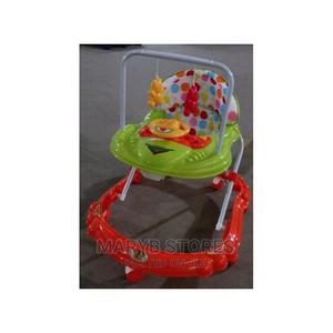 Movable + Foldable + Fun Baby Walker With Music Hanging Toys | Children's Gear & Safety for sale in Lagos State, Surulere