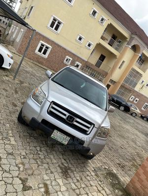 Honda Pilot 2005 EX-L 4x4 (3.5L 6cyl 5A) Silver | Cars for sale in Abuja (FCT) State, Wuse 2