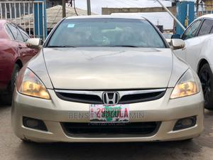 Honda Accord 2007 Gold   Cars for sale in Lagos State, Abule Egba