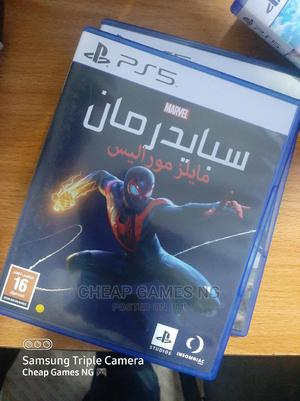PS5 Spiderman Miles Morales   Video Games for sale in Lagos State, Agege