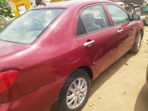 Toyota Corolla 2003 Sedan Automatic Red | Cars for sale in Abuja (FCT) State, Lugbe District