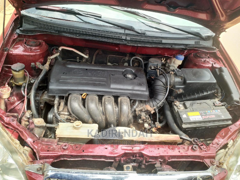 Archive: Toyota Corolla 2003 Sedan Automatic Red