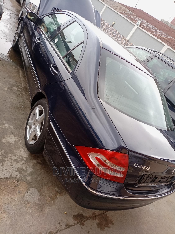 Mercedes-Benz C240 2005 Blue | Cars for sale in Apapa, Lagos State, Nigeria