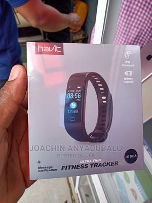 Havit H1108A Smart Bracelet Fitnesstracker Smart | Smart Watches & Trackers for sale in Lagos State, Ikeja