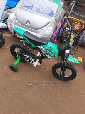 Size 12 Bicycle With Supporting Tires | Toys for sale in Lagos State, Ojo