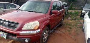 Honda Pilot 2004 LX 4x4 (3.5L 6cyl 5A) Red | Cars for sale in Imo State, Owerri