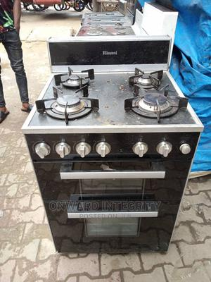 4 Burner Standing Gas Cooker Glass Surface | Kitchen Appliances for sale in Lagos State, Ojo