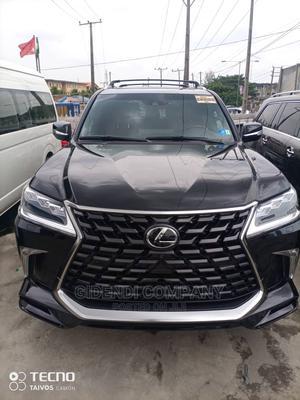 New Lexus LX 2021 570 AWD Black   Cars for sale in Lagos State, Lagos Island (Eko)