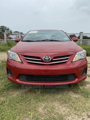 Toyota Corolla 2013 Red | Cars for sale in Lagos State, Ajah