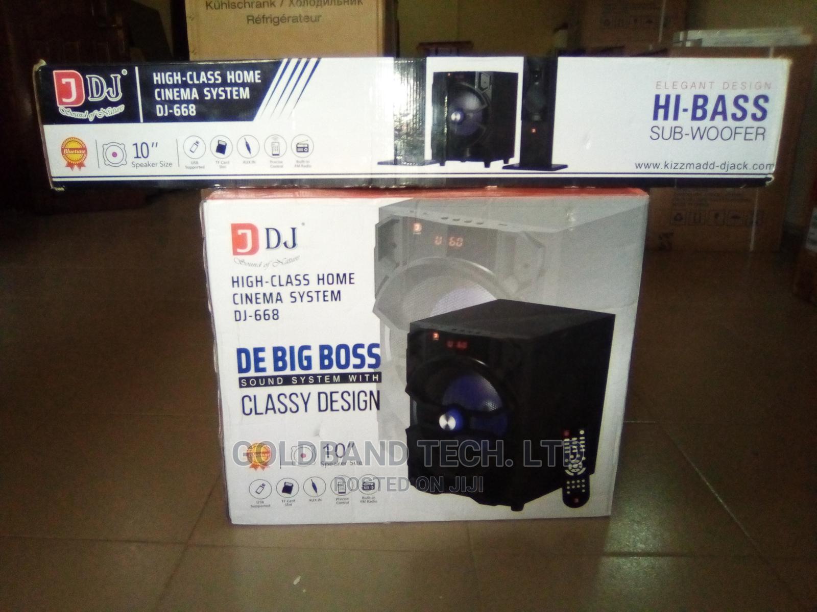 De Big Boss DJ 668 With Classy Design