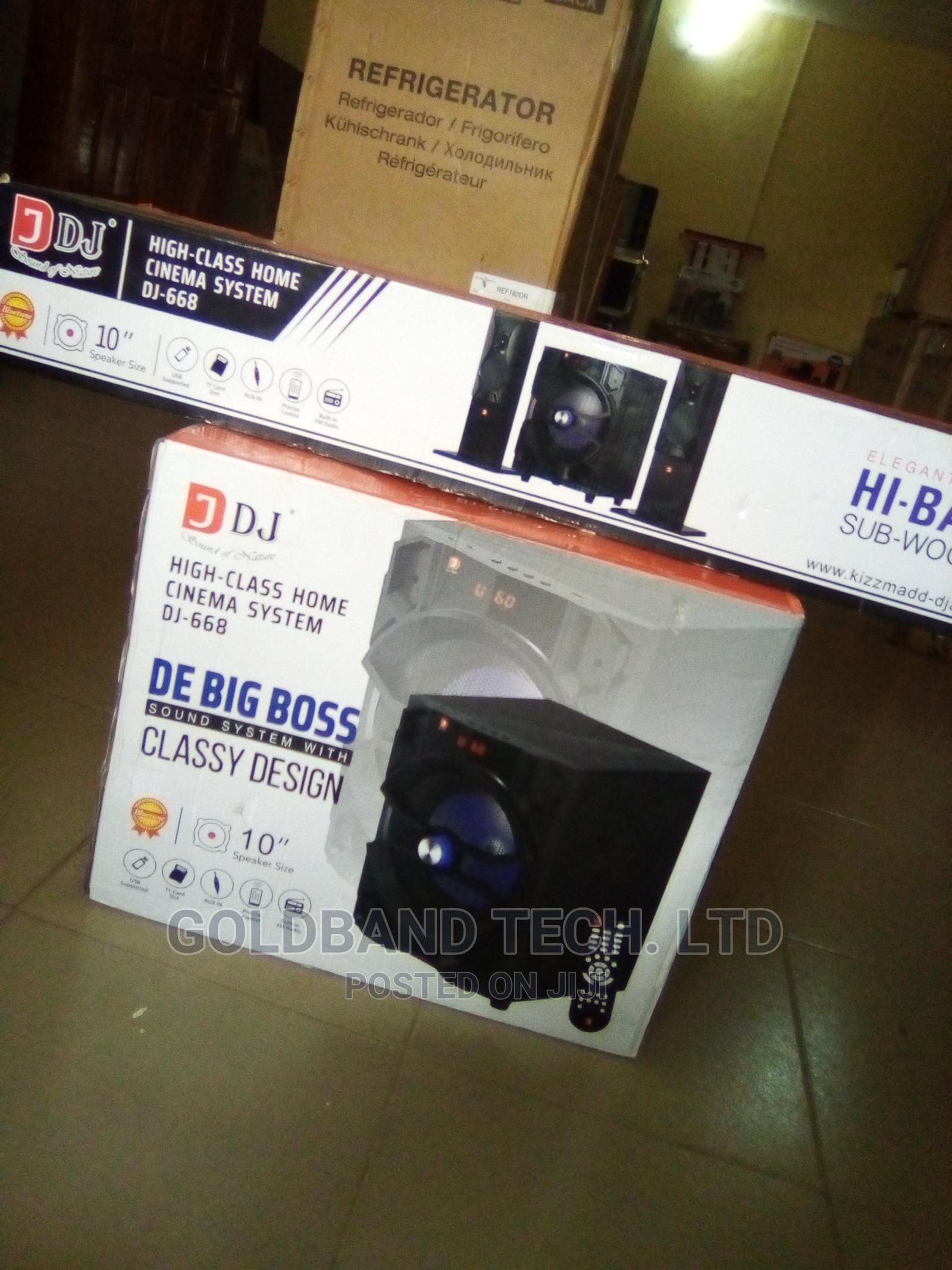 Brand New Home Theater / DJ-668 De Boss