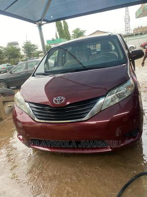 Toyota Sienna 2011 LE 7 Passenger Red | Cars for sale in Lagos State, Alimosho