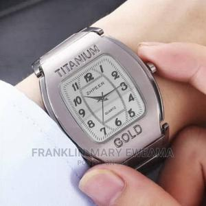 Titanium Gold Wrist Watch   Watches for sale in Lagos State, Ajah