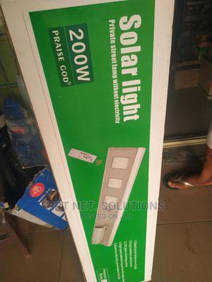 200watts Solar Street Light   Solar Energy for sale in Delta State, Warri