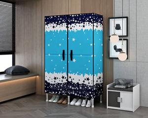 2column Strong Steel Wardrobe With Real Doors | Furniture for sale in Lagos State, Oshodi