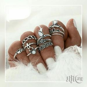10piece Set Of Knuckle Rings - Silver | Jewelry for sale in Lagos State, Yaba