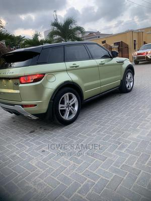 Land Rover Range Rover Evoque 2013 Pure Plus AWD Green | Cars for sale in Lagos State, Lekki