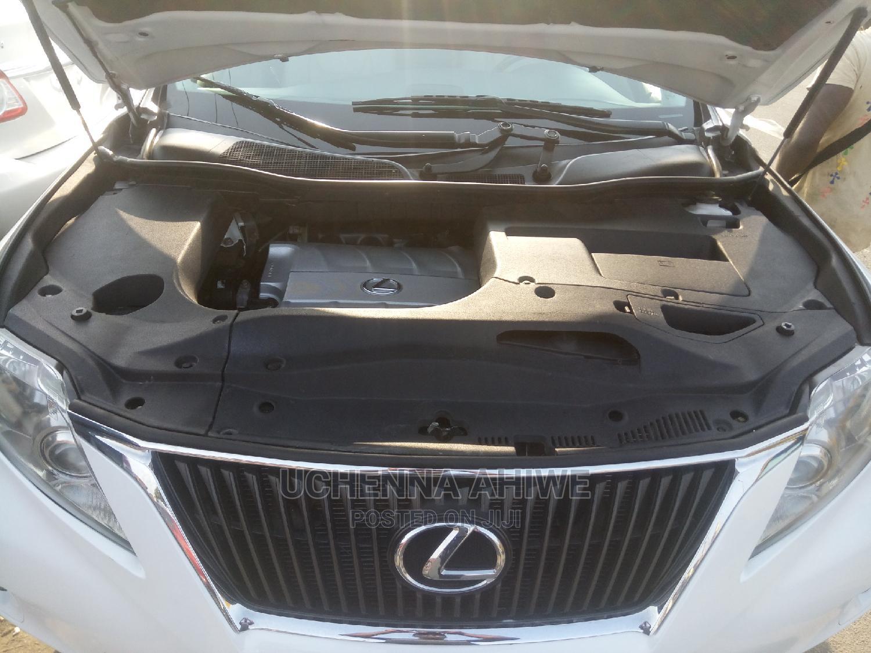 Archive: Lexus RX 2010 350 White