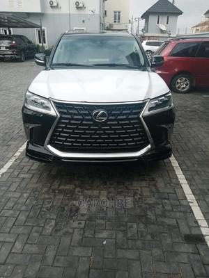 New Lexus LX 2021 570 (5 seats) AWD Black | Cars for sale in Lagos State, Ikeja