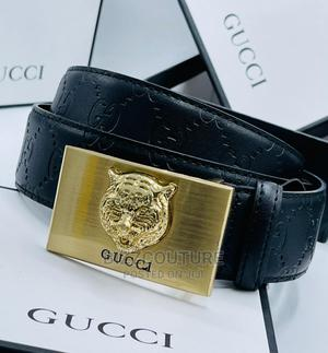 High Quality Gucci Leather Belts For Sale   Clothing Accessories for sale in Lagos State, Magodo