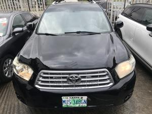 Toyota Highlander 2008 Limited 4x4 Black   Cars for sale in Lagos State, Ikeja