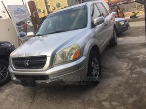 Honda Pilot 2005 Silver | Cars for sale in Lagos State, Surulere