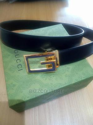 High Quality GUCCI Italian Leather Belts Available for Sale   Clothing Accessories for sale in Lagos State, Magodo