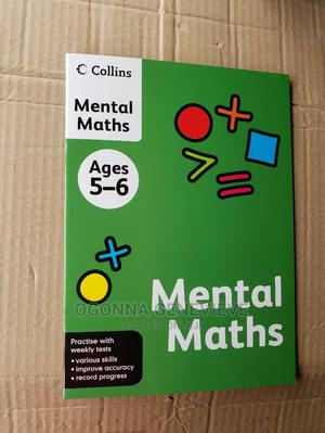 Collins Mental Maths Ages 5-6 | Books & Games for sale in Lagos State, Yaba
