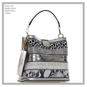 Classy Ladies Turkey Hand Bag- Grey | Bags for sale in Lagos State, Agege