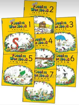 Jolly Phonics Workbook 1-7   Books & Games for sale in Lagos State, Yaba