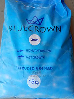 Blue Crown Fish Feed   Pet's Accessories for sale in Niger State, Suleja