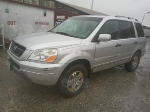 Honda Pilot 2005 EX 4x4 (3.5L 6cyl 5A) Silver | Cars for sale in Rivers State, Port-Harcourt
