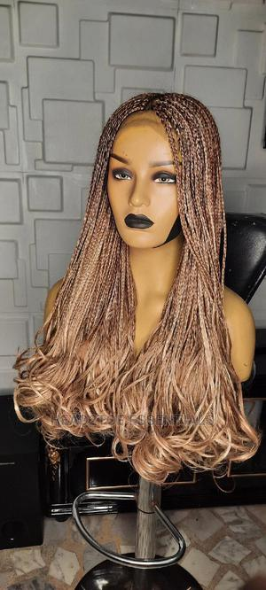Blonde Curly Glueless African Long Braids   Hair Beauty for sale in Lagos State, Ikoyi