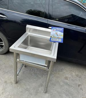 Single Bowl Stainless Steel Sink | Kitchen Appliances for sale in Lagos State, Ojo