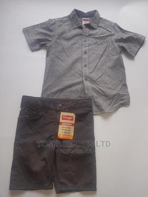 Boys Shirt and Shorts Set | Children's Clothing for sale in Lagos State, Ajah