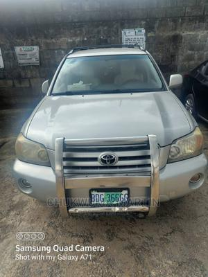 Toyota Highlander 2005 Silver | Cars for sale in Rivers State, Port-Harcourt