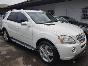 Mercedes-Benz M Class 2010 ML 550 4Matic White   Cars for sale in Lagos State, Apapa