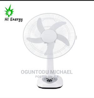 Solar Table Fan 12inch and 14inches | Home Appliances for sale in Lagos State, Ifako-Ijaiye