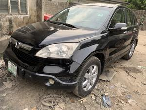 Honda CR-V 2008 2.4 EX 4x4 Automatic Black | Cars for sale in Lagos State, Surulere