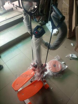 Brand New Stepper With Twister and Dumbbells | Sports Equipment for sale in Rivers State, Port-Harcourt