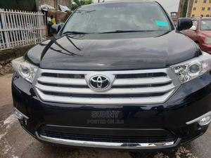 Toyota Highlander 2012 Black   Cars for sale in Lagos State, Ikeja